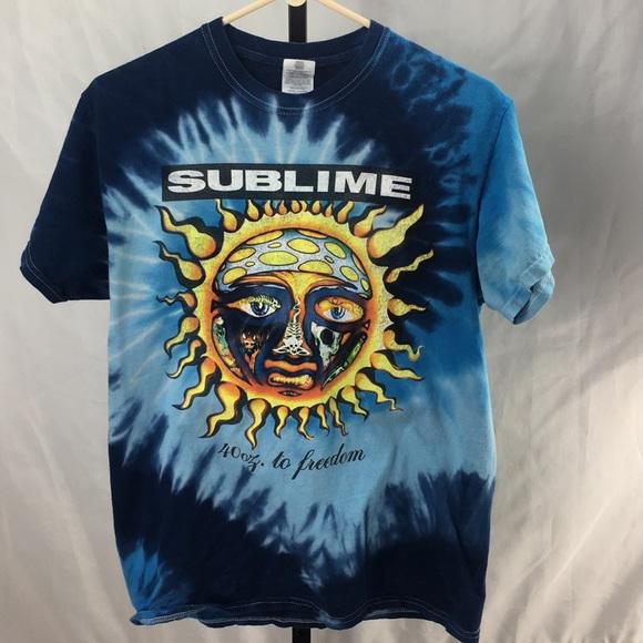 8b0cdd518 Gildan Shirts | Sublime Tiedye Tshirt Size Medium | Poshmark